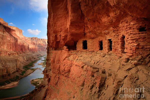 Anasazi Granaries by Inge Johnsson