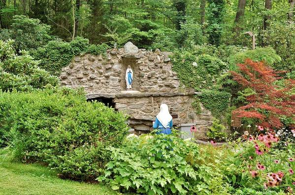 National Shrine Grotto of Our Lady of Lourdes by Jean Goodwin Brooks