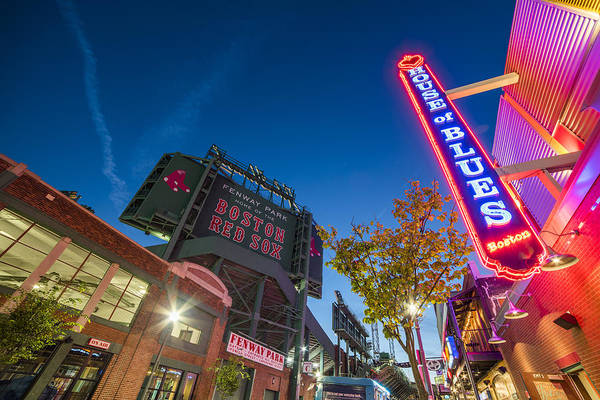 Lansdowne street fenway park House of Blues Boston MA by Toby McGuire