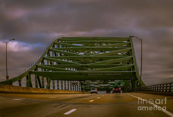 Piscataqua River Bridge by Claudia M Photography