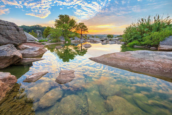 Texas Hill Country September Sunrise 3 by Rob Greebon