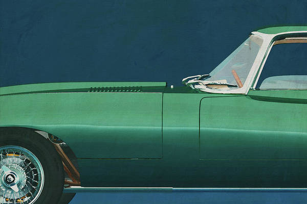 Jaguar E-Type 1960 by Jan Keteleer