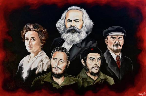 5 Marxists by Solveig Inga