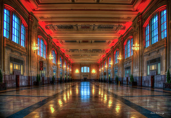 Kansas City MO Frozen In Time Union Station Interior Design Reflections Architectural Art by Reid Callaway