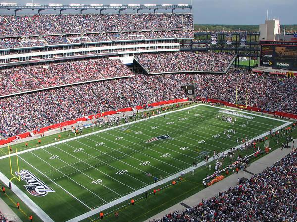 Gillette Stadium by Georgia Fowler