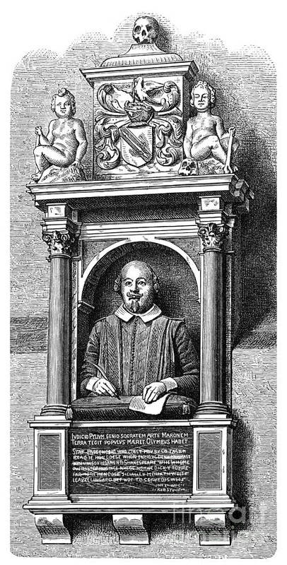16th Century Art Print featuring the photograph William Shakespeare by Granger