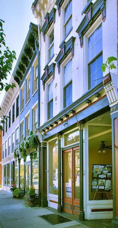 Shop Art Print featuring the photograph Madison Shops IIi by Steven Ainsworth