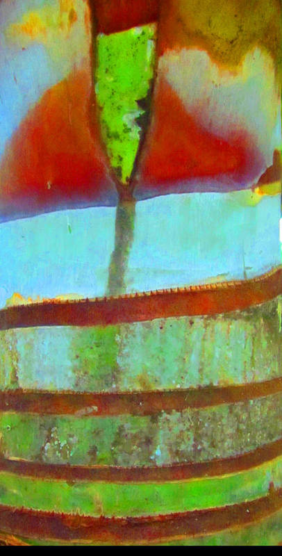 Trees Art Print featuring the photograph Tree Abstract 1 by Vijay Sharon Govender