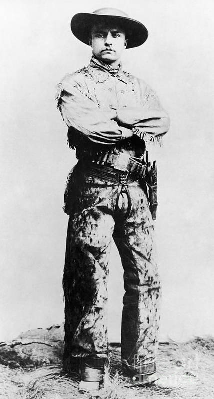 1880s Art Print featuring the photograph Theodore Roosevelt by Granger