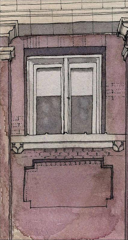 Aiden Humphrey Art Print featuring the digital art Window Study 3 by Aiden Humphrey