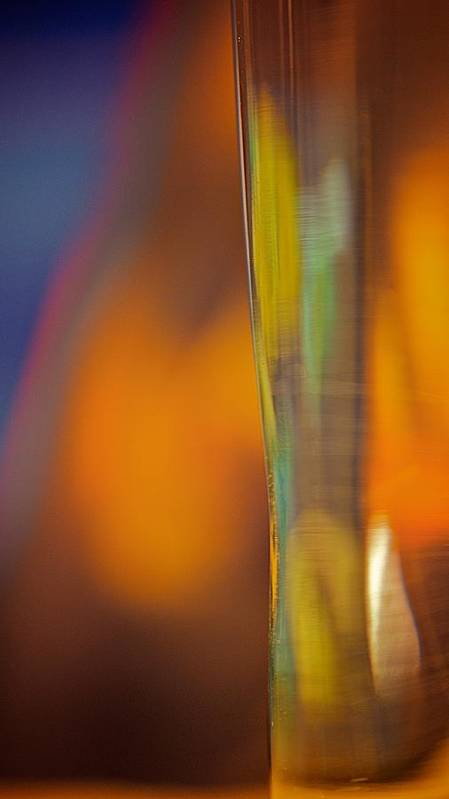 Photography Abstract Art Colorful Light Art Print featuring the photograph Internal Light by Susanne Meyer
