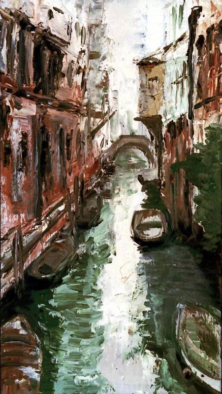 Venice Art Print featuring the painting Venice by Sophie Brunet