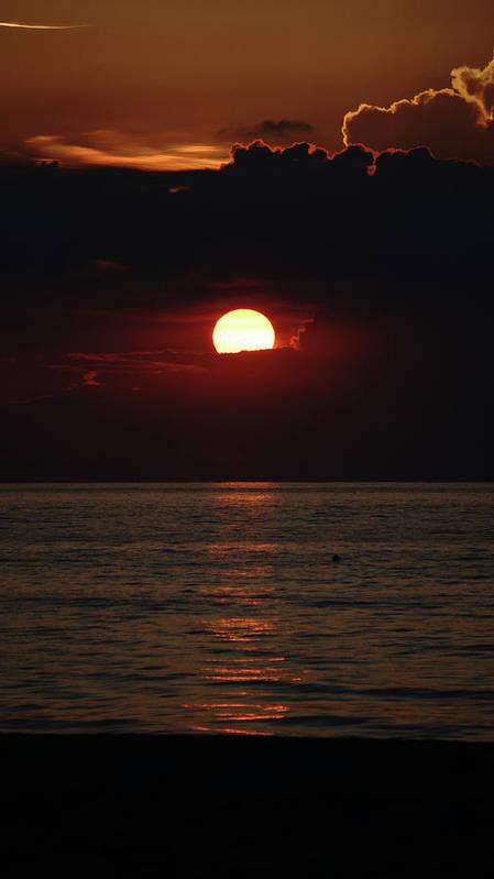 Florida Art Print featuring the photograph Sunrise Window Path Delray Beach Florida by Lawrence S Richardson Jr