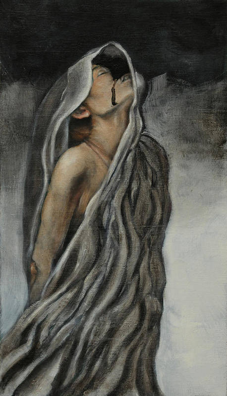 Woman Art Print featuring the painting Wander by Anthony Shechtman