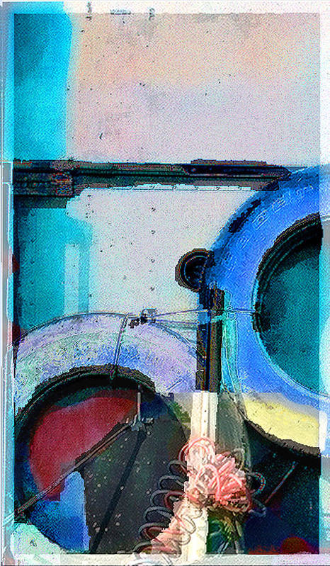 Abstract Art Print featuring the photograph panel three from Centrifuge by Steve Karol
