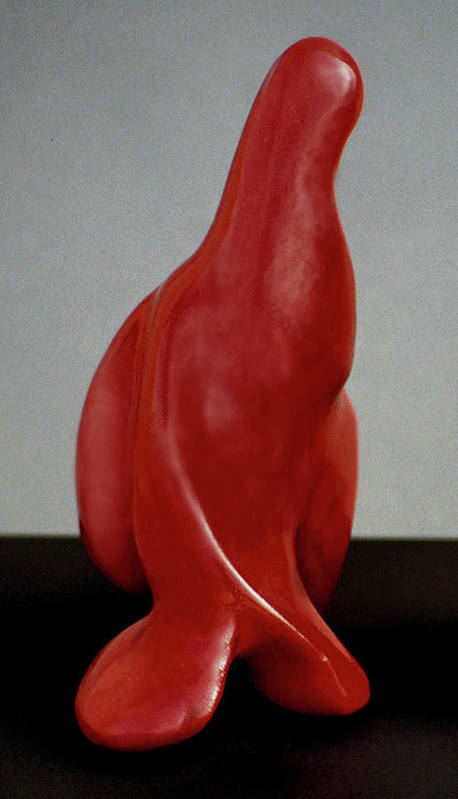 Sculpture Art Print featuring the sculpture Seal We Dance by Lonnie Tapia