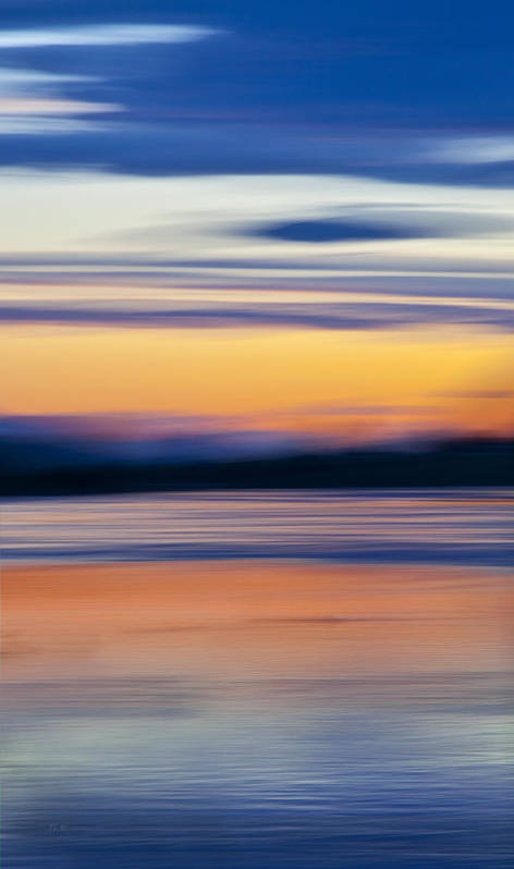 River Art Print featuring the photograph Down By The River by Theresa Tahara