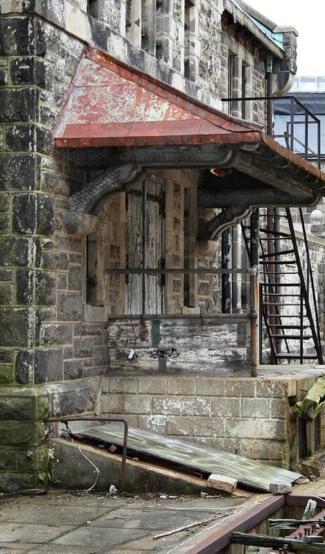 Eastern State Penitentiary Art Print featuring the photograph Prison Kitchen by Cecelia Helwig