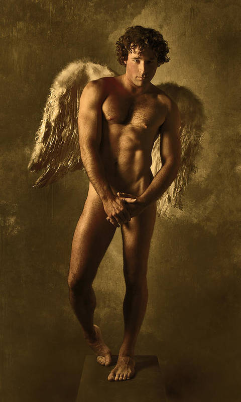 Angel Art Print featuring the photograph Angel by Dave Milstead