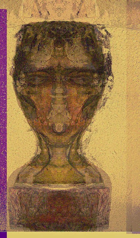 Relgion Art Print featuring the mixed media Coptic 3 by Noredin Morgan