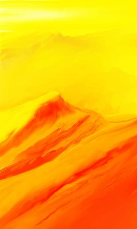 Landscape Art Print featuring the digital art Rocky Landscape 122010 by David Lane