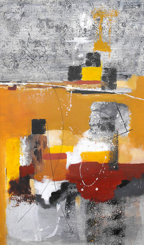 Abstract Art Print featuring the painting Special Circumstances II by Ruth Palmer