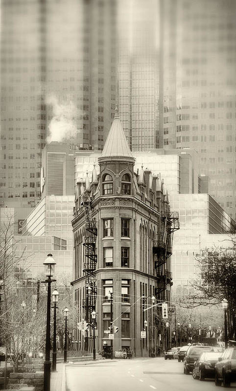 Architecture Art Print featuring the photograph Class Amongst The Glass by Russell Styles