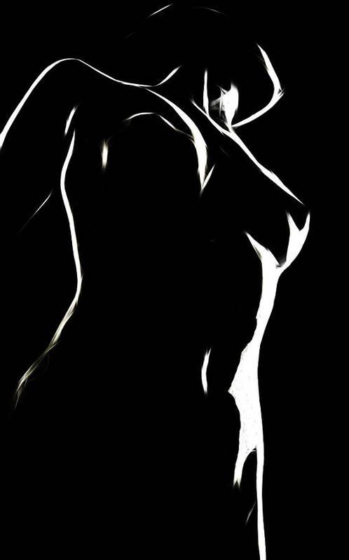 Female Woman Body Nude Breast Tits Scape Figure Curve Curves Painting Naked Black White Erotic 裸 Girl Sex Intimate Virgin Boobs Butt Innocence Male Men Man Lover Love Couple Kiss Intimo Erotico Vergine Culo Tette Innocenza Fille Femme Sexe Erotique Cul Vierge Seins Sieviete Kobieta Cycki Menina Intima Erotica Bed Sleep Sleeping Wet Dream Dreams Seduction Lust Black White Shape Curve Curves Desire Minimalism Face Strip Striptease Sugar Sweet Lingerie Bath Innocence Art Print featuring the painting Body And Light by Steve K