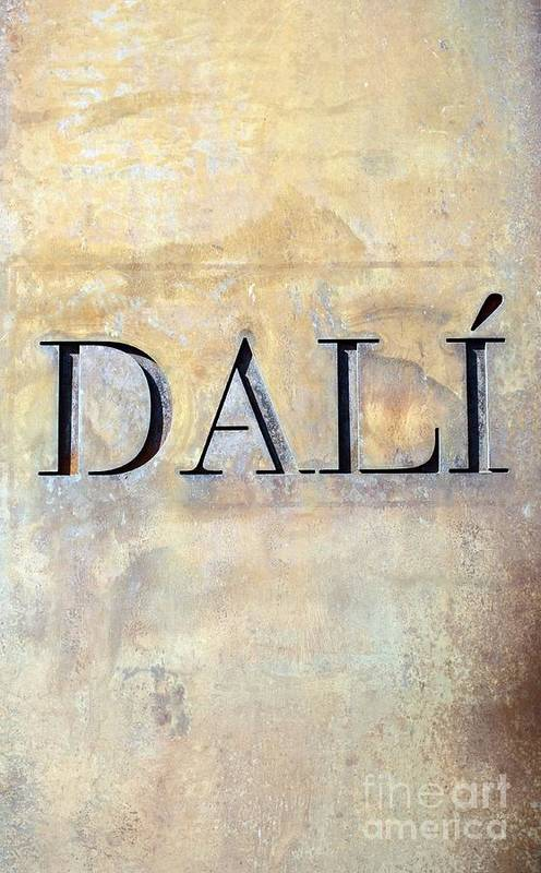 Dali Art Print featuring the photograph Dali by Sophie Vigneault