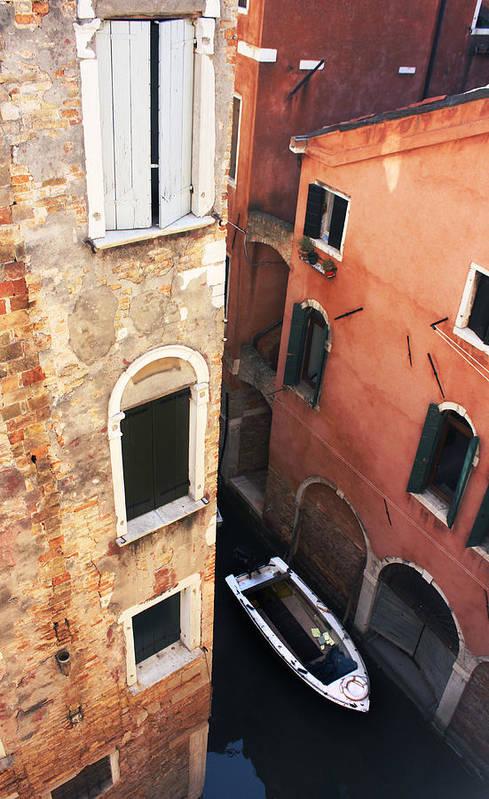 Venice Art Print featuring the photograph Domus Ciliota by Jillian Barrile