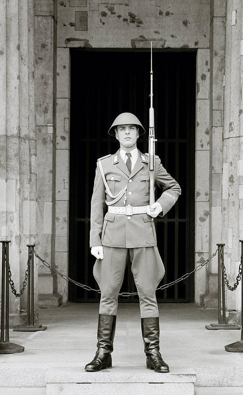 Soldier Art Print featuring the photograph The Soldier by Shaun Higson