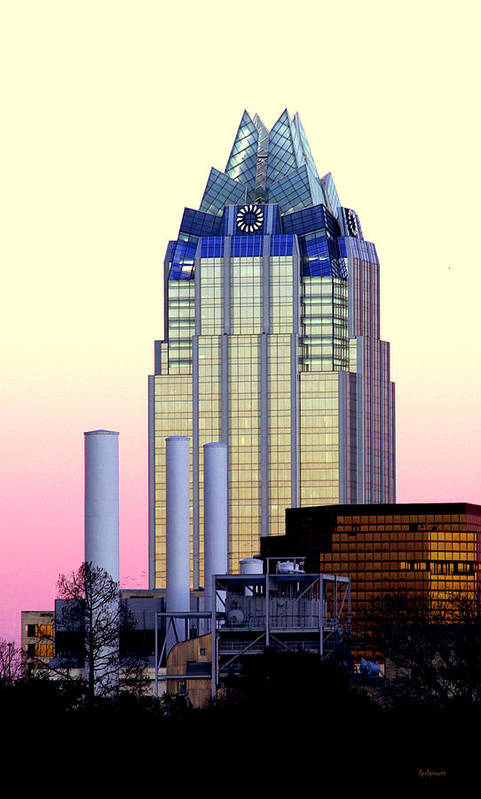 Frost Tower Art Print featuring the photograph The Frost Tower by Lisa Spencer
