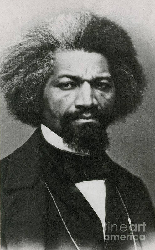 History Art Print featuring the photograph Frederick Douglass, African-american by Photo Researchers