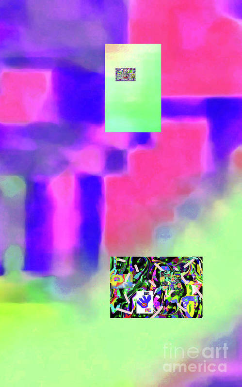 Walter Paul Bebirian Art Print featuring the digital art 5-14-2015fabcdefghijklmnopqrtuvwxyz by Walter Paul Bebirian