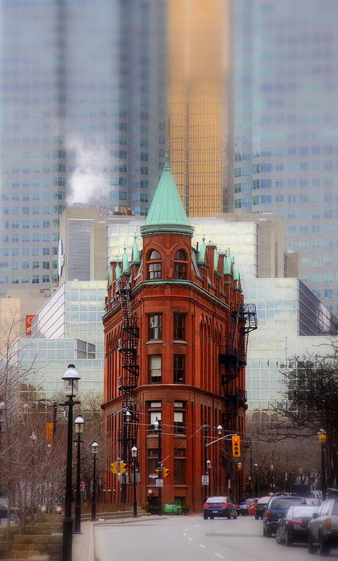 Flat Iron Art Print featuring the photograph Class Amongst The Glass by Russell Styles