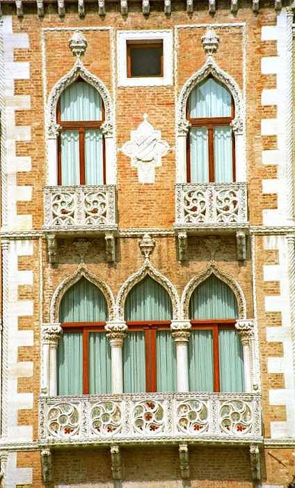 Venice Art Print featuring the photograph Palace On Grand Canal In Venice by Michael Henderson
