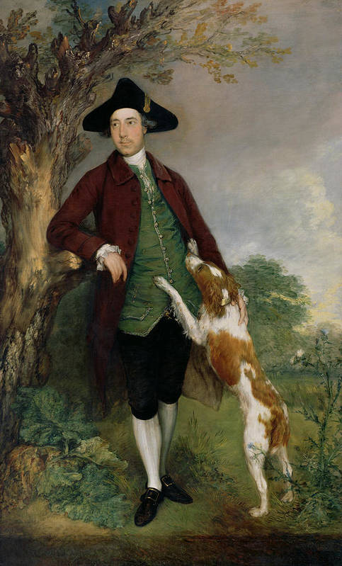 Portrait Art Print featuring the painting Portrait Of George Venables Vernon by Thomas Gainsborough