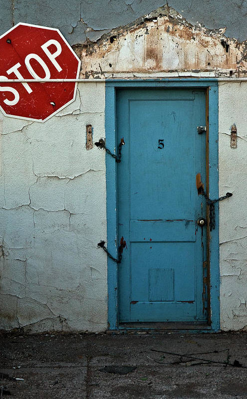 Door Art Print featuring the photograph Welcome by Murray Bloom