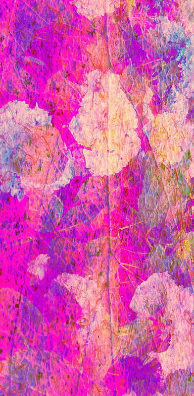 Color Art Print featuring the digital art Nature in pink by Joseph Ferguson