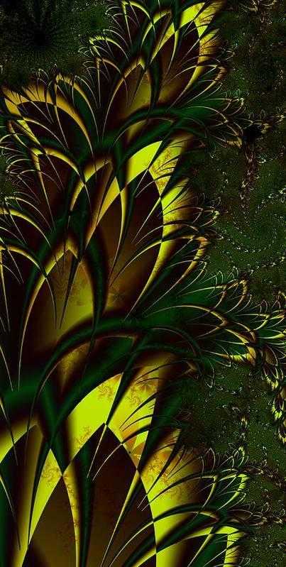 Digital Art Art Print featuring the digital art Summer Frenzy by Amanda Moore