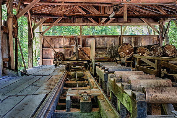 The Old Sawmill by Betty Depee