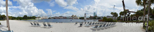 Epcot Resorts Panoramic from Beach Club Resort by James Feeney