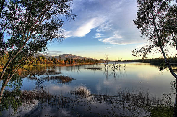 Lower Otay Lake by Robert VanDerWal