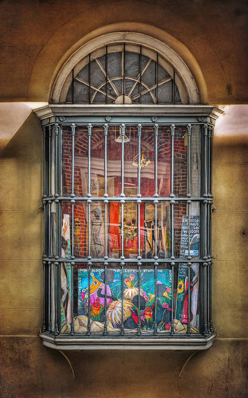 Window Art Print featuring the photograph Art For Sale by Brenda Bryant