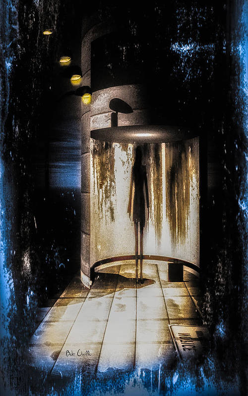 Apparition Art Print featuring the painting Apparition by Bob Orsillo