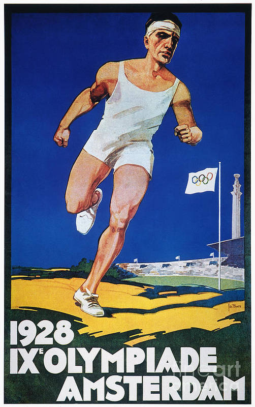 1928 Art Print featuring the photograph Olympic Games, 1928 by Granger