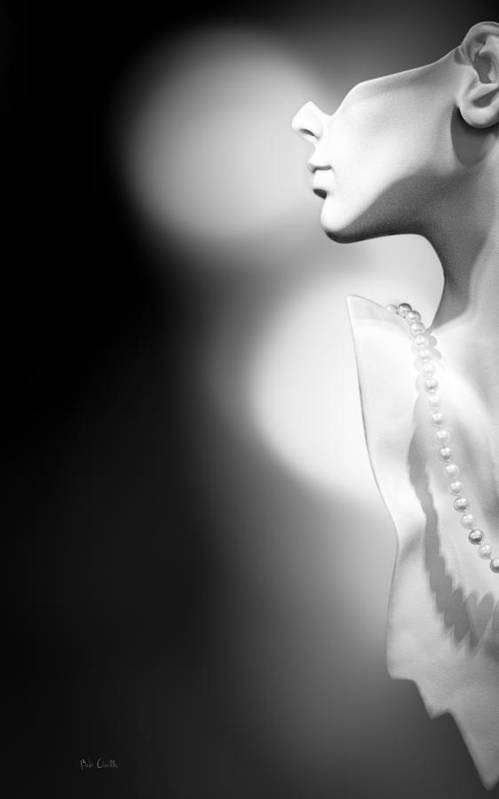 Mannequin Art Print featuring the photograph Nod And A Whisper by Bob Orsillo