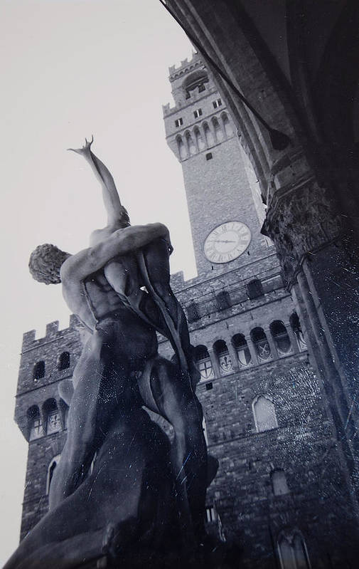 Florence Art Print featuring the photograph Palazzo Vecchio by Kurt Hausmann