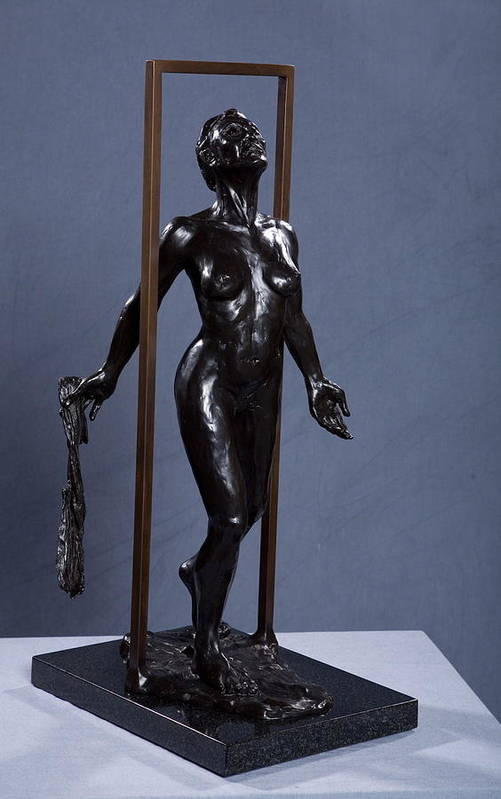 Female Art Print featuring the sculpture Epiphany by Dan Earle