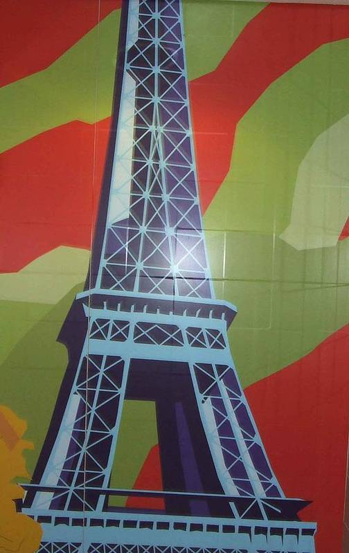 Paris Art Print featuring the photograph More Parisian Murals..... by Rusty Gladdish